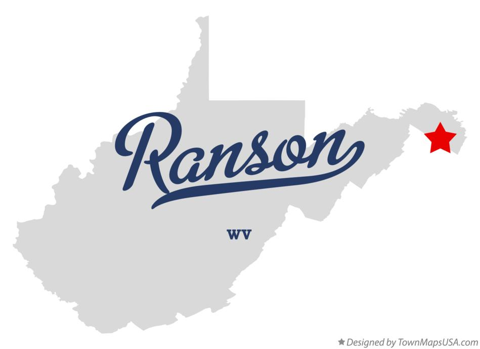 map of ranson wv
